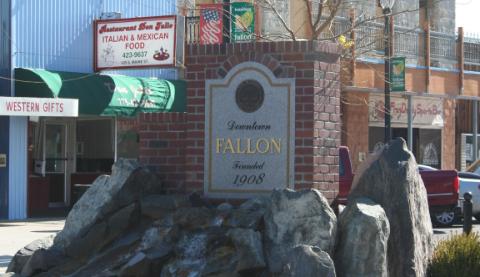 Fallon, NV fountain